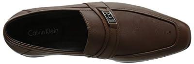 Calvin Klein Men's Bartley Diamond Leather Loafer
