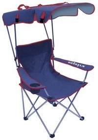 Kelsyus Kids Canopy Chair- Blue front-305870