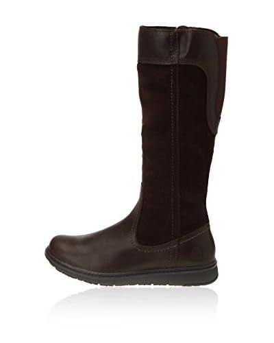 Timberland Ashdale FTW_EK Ashdale Tall Zip WP Boot - Botas para mujer, color Brown, talla 37