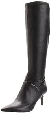 Nine West Women's Aliceeve Knee-High Boot,Black,6 M US