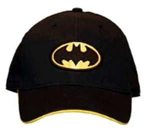 Amazon.com: Batman Baseball Cap Childrens Warner Brothers DC Comics Novelty Hat with Classic Bat