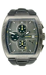 Puma Leader Leather Chronograph Men's watch #PU102221006
