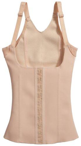 Squeem+Magical+Lingerie+Shapewear%2C+Miracle+Vest%2C+Firm+Compression%2C+Cotton+%26+Rubber%2C+Vest%2C+Nude%2C+2+XL