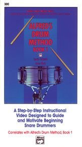 Alfred'S Drum Method Book 1 [Vhs]