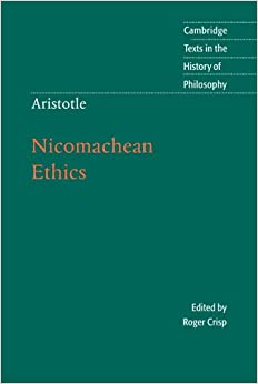 nicomachean ethics book 1 essay Aristotle's nicomachean ethics essay - in book 1 of aristotle's nicomachean ethics, he argues that happiness is the best good.