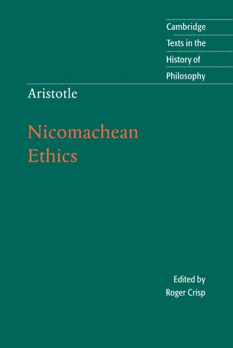 literary analysis of the nicomachian ethics by aristotle Literary criticism home / peter martyr vermigli / commentary on aristotle's nicomachean ethics commentary on aristotle's nicomachean ethics.