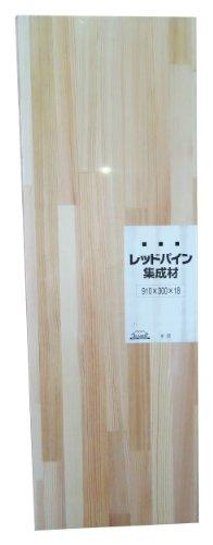 JUMBO レッドパイン集成材 シュリンク済み 910X18X300mm