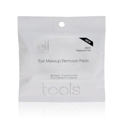 e.l.f. Essential Eye Makeup Remover Pads 24 Pack Makeup Remover