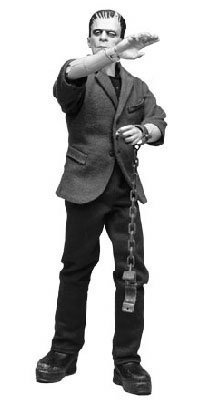 Buy Low Price Sideshow Frankenstein Boris Karloff Silver Screen Edition Universal Studios Figure (B001DFS274)