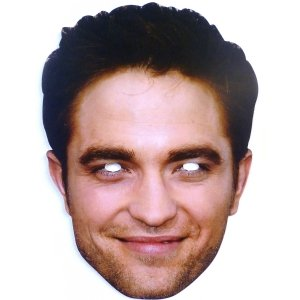 Robert Pattinson Celebrity Cardboard Mask - Single