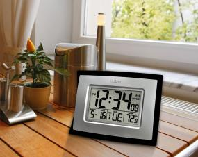 la crosse technology digital wall clock manual