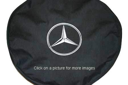 Mercedes G-Class Spare Tire Cover Soft/Winter (265 70 16 Tire Cover compare prices)