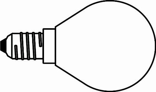 Glühlampe 40 Watt, Sockel E14, glasklar