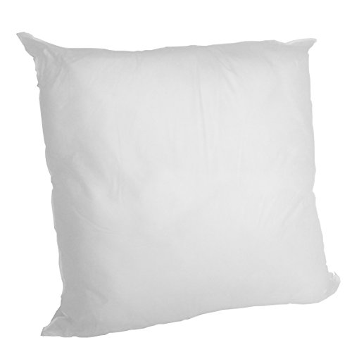 Set of 2 - 26 X 26 Premium Hypoallergenic Stuffer Pillow Insert Sham Square Form Polyester, Standard / White - MADE IN USA (Pillow Insert Hypoallergenic compare prices)