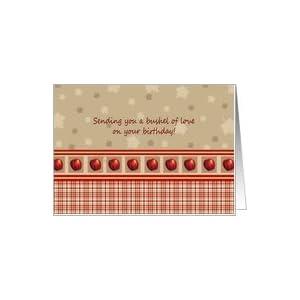 Amazon.com: Apple Themed Birthday Cards Paper Greeting