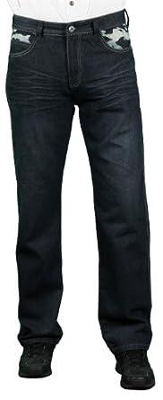 MO7 Men's Fashion Jeans, Dark Indigo, Size 30X30