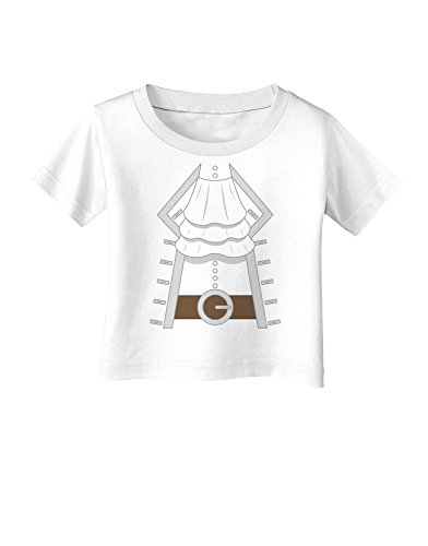 Pirate Captain Costume Silver Infant T-Shirt