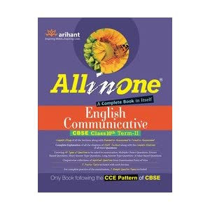 All in one English Communicative CBSE Class 10th Term-II