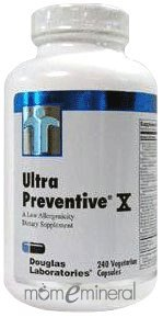 Ultra Preventive X 240 Vegetarian Capsules by Douglas Labs