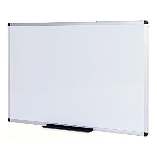 Viz-Pro Dry Erase Board, Melamine, 48 x 36 Inches,Silver Aluminium Frame (Dry Erase Board compare prices)