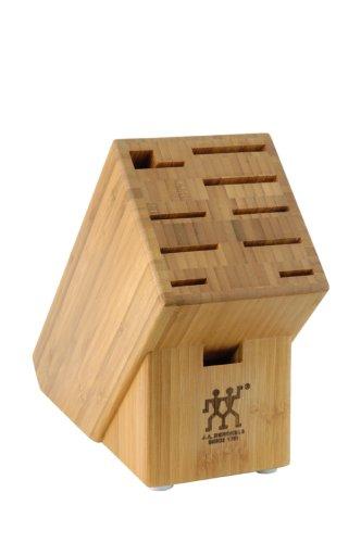J.A. Henckels 10-Slot Bamboo Storage Block