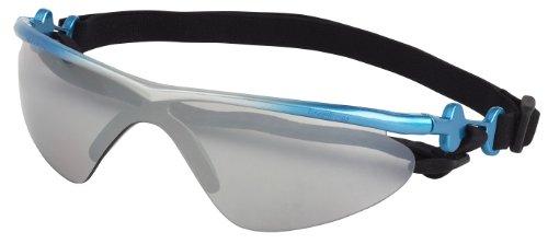 Doggles K9 Optix Blue Rubber Gradient Frame with Smoke Lens Sunglasses, Medium