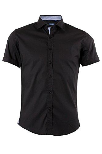 Camicia manica corta nera, M-39/40