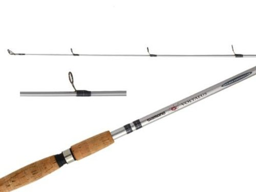 Shimano Voltaeus 1 Piece Spinning Rod (6-Feet 6-Inch, Medium)