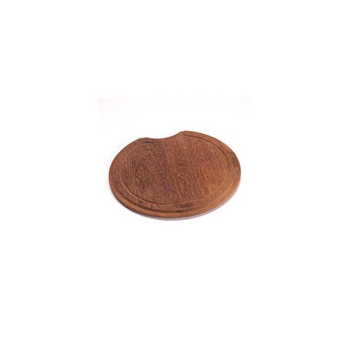 Franke Cutting Board In Teak - Round - Kitchen Utensil - Cooking Tools - Home Collection - Perfect For Preparing Any Artistic Dinner Or Serving. front-141446