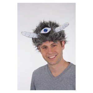 Furry Beast Hat w/ One Eye