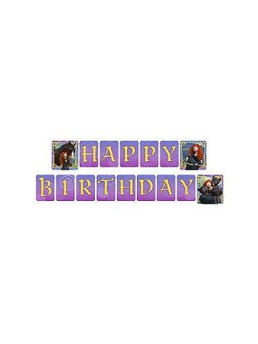 Disneys Brave Happy Birthday Banner