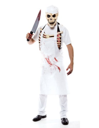 Meat Man Mens One Size Halloween Costume - Most Adults