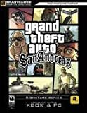 Grand Theft Auto: San Andreas Official Strategy Guide (Xbox and PC) (Official Strategy Guides) BradyGames