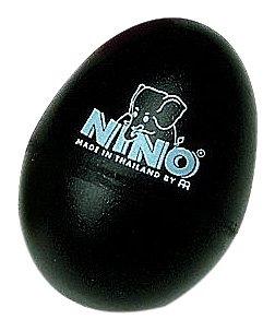 Nino Percussion NINO540L-BK Plastic Egg Shaker (Black)