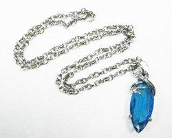Final Fantasy X Blue Crystal Necklace CM20457