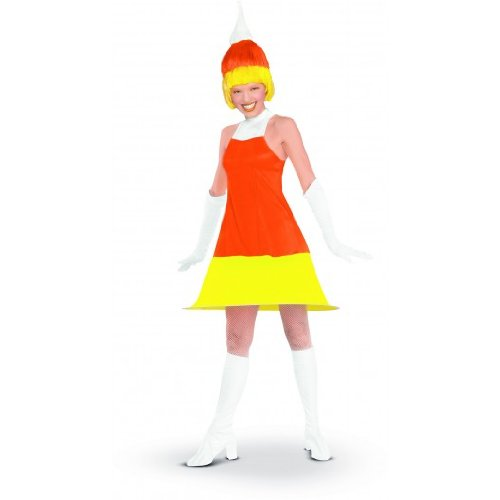 Candy Corn Adult Costume Size Standard