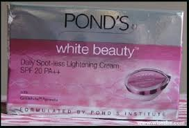 Ponds White Beauty Daily Spot-less Lightening Cream, 50g