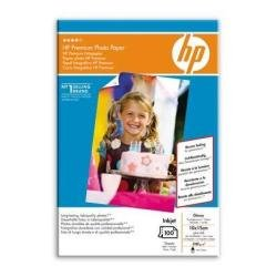 HP Original Premium Gloss Photo Paper, 10x15cm, 100 Sheets