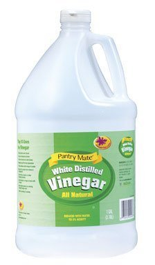 washing with vinegar