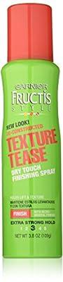 Garnier Hair Care Fructis Style De-constructed Texture Tease Hairspray, 3.8 Ounce