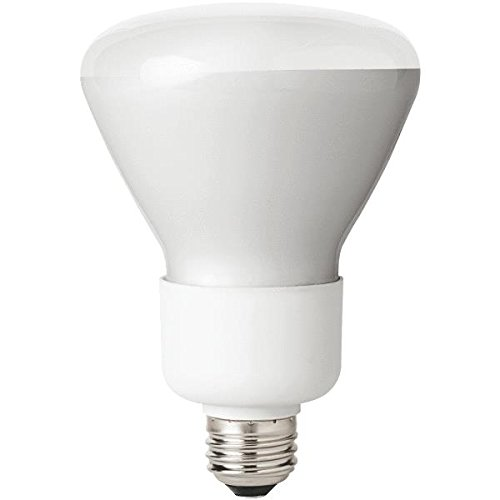 Tcp 6R3016Dim Cfl Dimmable R30 - 65 Watt Equivalent (Only 16W Used) Soft White (2700K) Dimmable Covered Flood Light Bulb
