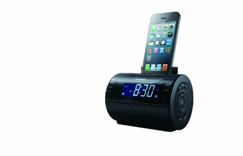 Sony Dock Clock Radio with Lightning Connector for iPhone/iPod