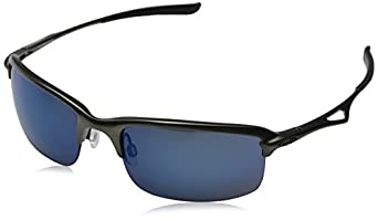 Oakley Metal Frame Glasses : Oakley Mens Oo4071 Wire Tap Carbon Frame/Ice Iridium Lens ...