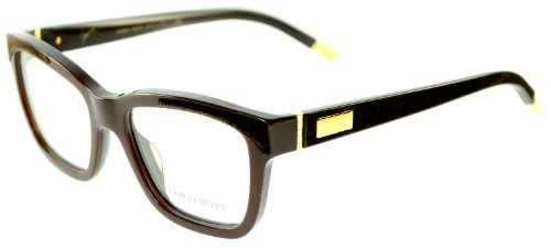 Giorgio ArmaniGiorgio Armani Womens Brown Prescription Eyewear Frames AR 7019K 5148 Sz 52