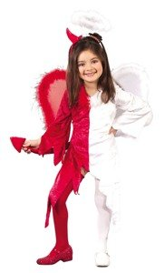 Naughty And Nice Toddler Costume Size (3T-4T)