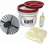 DETAILING CAR WASH BUCKET KIT WITH GRIT GUARD AND EXTRAS! (NICE)