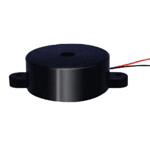 Generic Pack Of 100Pcs High Decibel Alarm Security Electronic 40V Buzzer Buzzerphone Active Electro Piezo Buzzer Size 40X16Mm Black Case