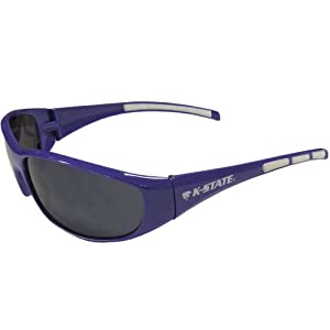 Buy NCAA Kansas State Wildcats Wrap Sunglasses by Siskiyou Sports