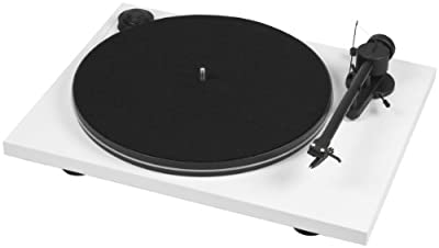 Pro-Ject - Essential - Turntable with OM 5e Cartridge - White from PRO-JECT