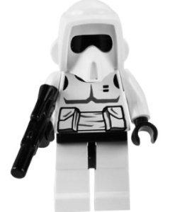 Scout Trooper - Lego Star Wars Minifigure - 1